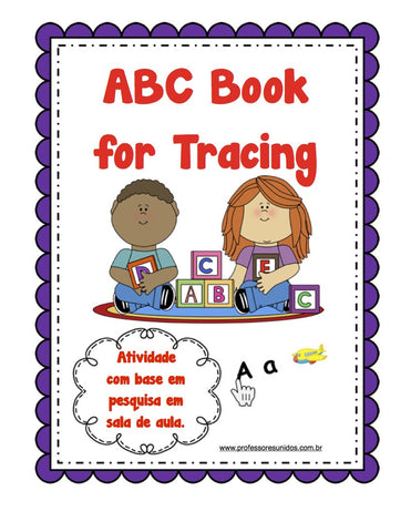 ABC Book for Tracing - Professores Unidos