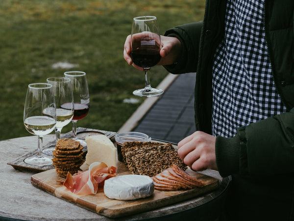 Enjoy a delicious surprise every month with a gourmet wine & cheese pairing hand picked by our team each month.