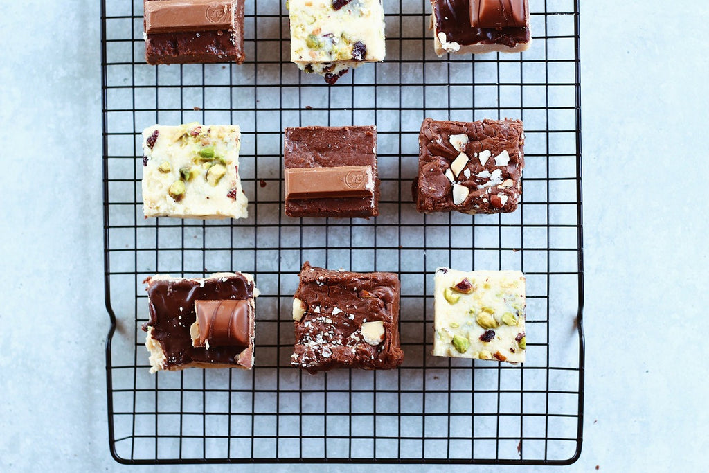 There are so many delicious gourmet chocolate treats... why not try them all! Receive 2 specialty chocolate treats delivered to your door monthly! This one DOES include nuts on occasion, so for all of our nuts who don't do nuts, click here.