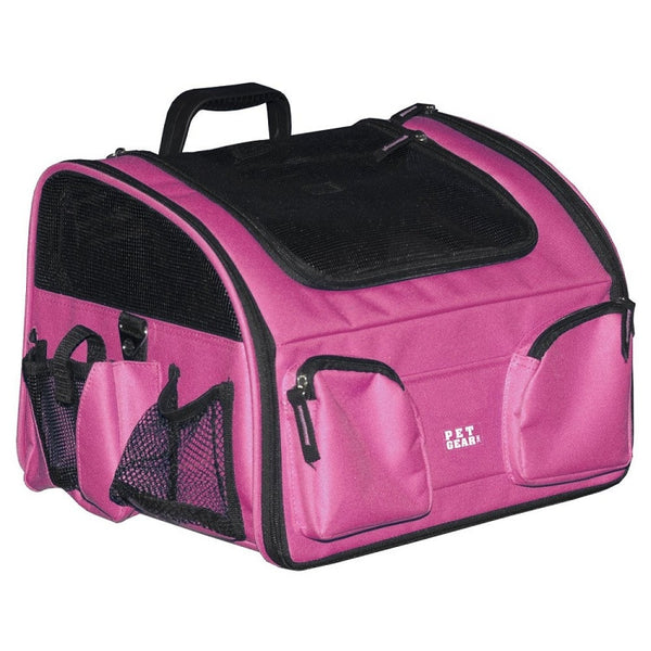 3-in-1 Pet Bike Basket and Carrier - Large/Pink