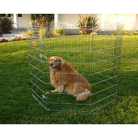 Dog Exercise Pen - Large