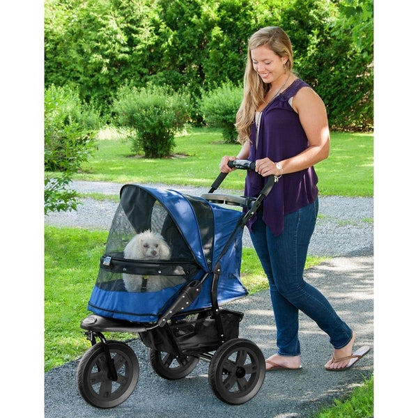 AT3 No-Zip Pet Stroller - Midnight River