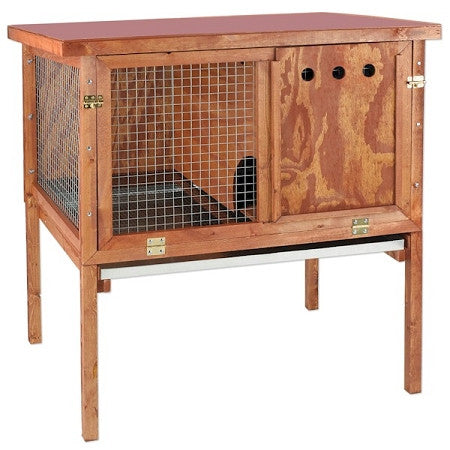 Deluxe Heavy Duty Rabbit Hutch