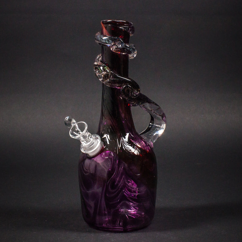 Special K Soft Glass Marbled Spiral Neck Bong