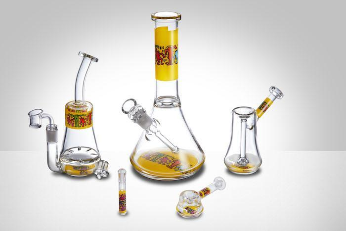 K. Haring Glass Collection now available from our online headshop!