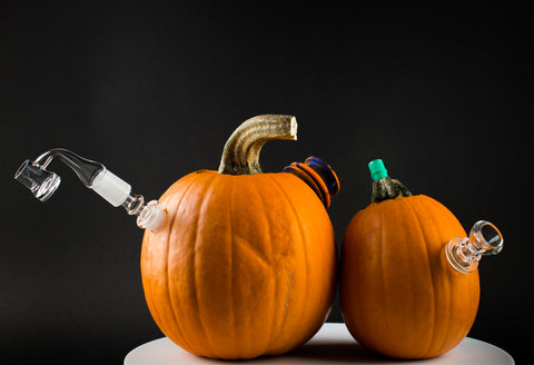 Pumpkin Bong and Dab Rig
