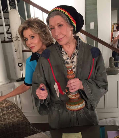 Grace and Frankie bong