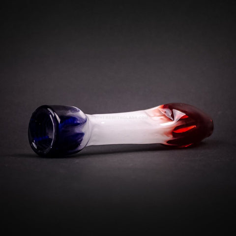 Chameleon Glass Chillum Pipe