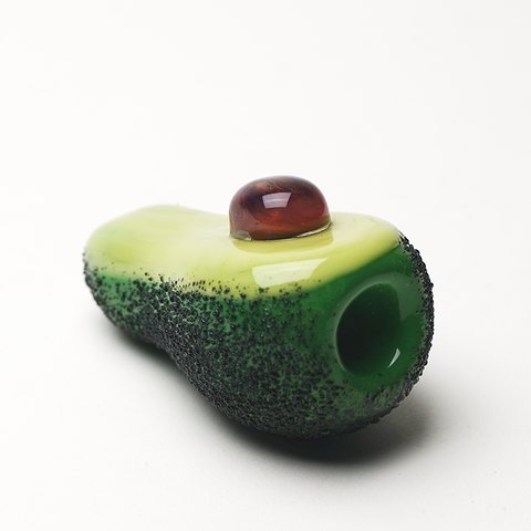 Empire Glassworks Avocado Chillum Hand Pipe