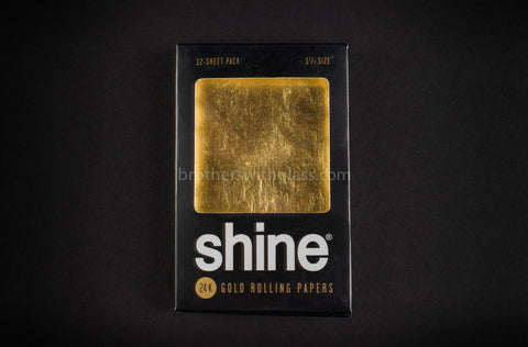 Shine 24k Gold Rolling Papers - 12 Pack