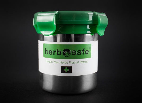 Herbsafe Mini Storage Container - Brothers with Glass - 1