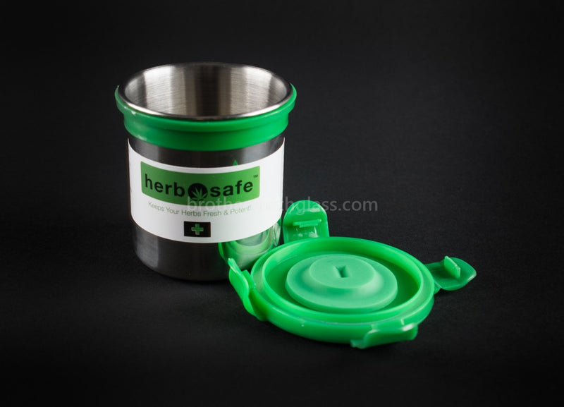 Herbsafe Mini Storage Container - Brothers with Glass - 3