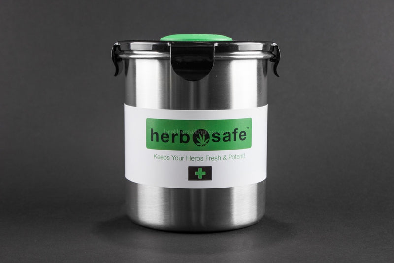 Herbsafe Large Storage Container - Brothers with Glass - 1