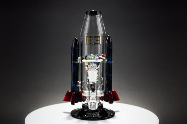 Empire Glassworks Dichro Rocket In Space Water Pipe - Brothers with Glass - 1