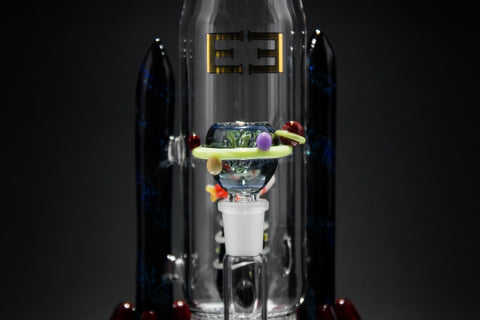 Empire Glassworks Dichro Rocket In Space Water Pipe - Brothers with Glass - 2