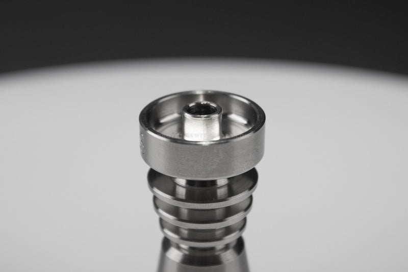 Skilletools Domeless Titanium Nail - 14/18mm Female - Brothers with Glass - 3
