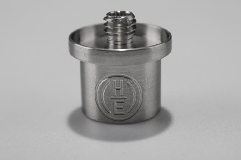 Highly Educated Hybrid Enail Adapter - 20mm - Brothers with Glass - 1