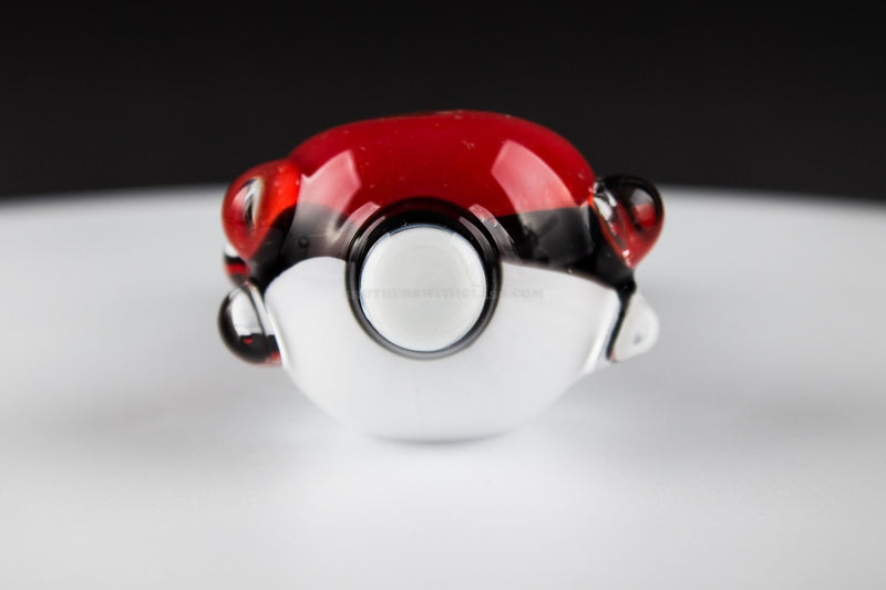 No Label Glass Pokeball Hand Pipe