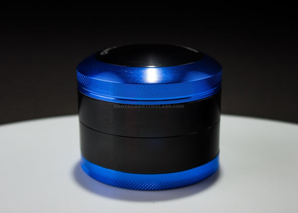 2.5 In Chromium Crusher Grinder - Blue