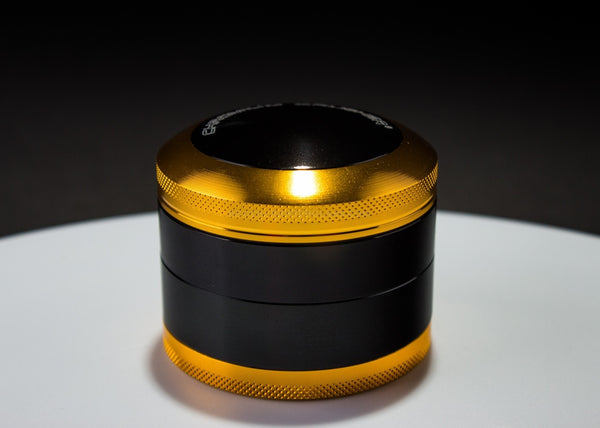 2.5 In Chromium Crusher Grinder - Gold