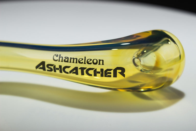 Chameleon Glass Ash Catcher Lawnchair Sherlock Hand Pipe
