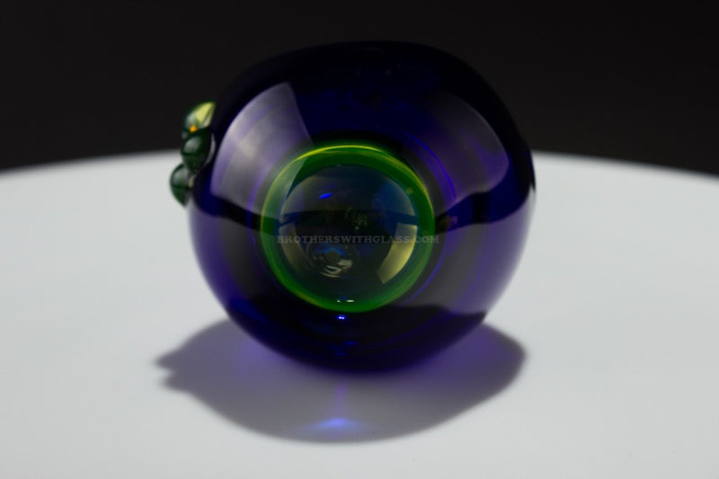 Chameleon Glass Half Life Illuminati Hand Pipe - Blue