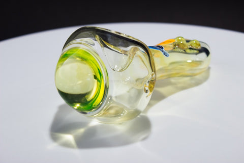 Chameleon Glass Half Life Illuminati Hand Pipe - Fumed