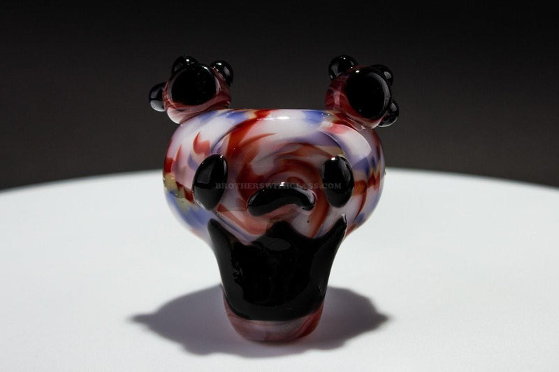 Chameleon Glass Dancing Bear Hand Pipe