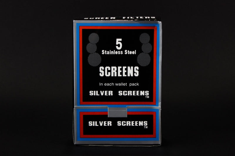 One Box Stainless Steel Pipe Silver Screens