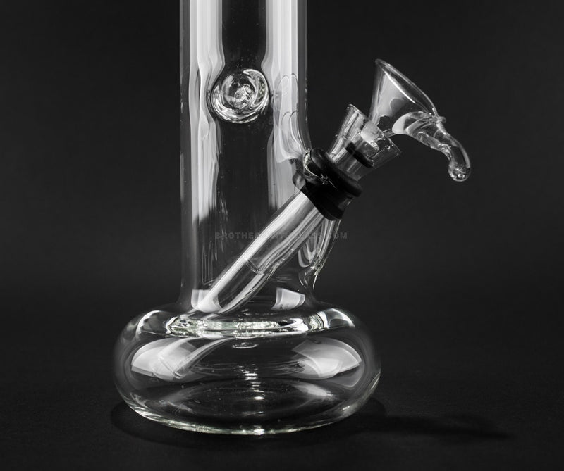 No Label Glass Clear 8 In Hollowfoot Bong