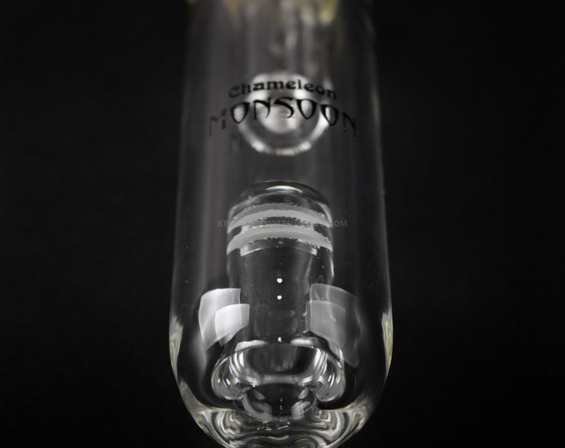 Chameleon Glass Spill Proof Jr Monsoon Spubbler Water Pipe - Fumed