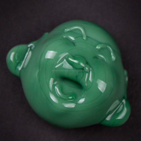 Chameleon Glass Happy Buddha Pendant
