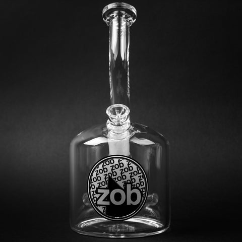 Zob Glass 110mm Showerhead Bubbler Water Pipe