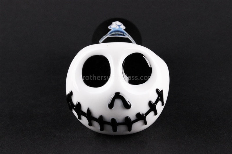 Chameleon Glass Skellington Hand Pipe - Brothers with Glass - 2