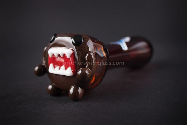 Chameleon Glass Arigato Adventure Hand Pipe - Brothers with Glass - 1