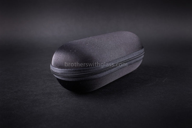 Biohazard Padded Zippered 6 Inch Pipe Case - Black - Brothers with Glass - 1