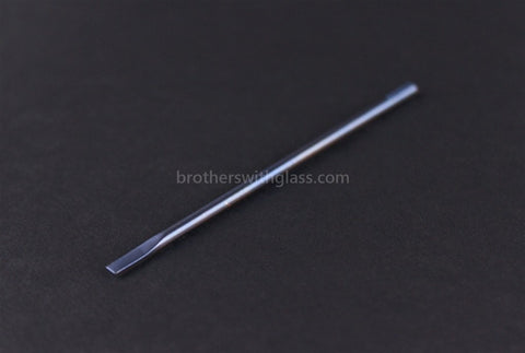 Anodized Blue Titanium Dabber Tool - Brothers with Glass - 1