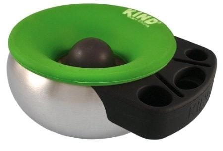 Kind Ash Cache Ashtray and Slide Holder Rig - Green - Brothers with Glass - 1
