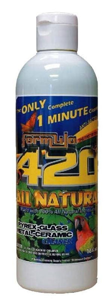 Formula 420 All Natural Glass Cleaner - 16 oz - Brothers with Glass