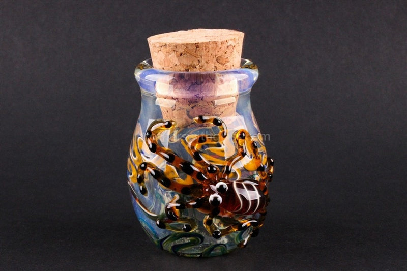 Heady Glass Stash Jar - Octopus - Brothers with Glass