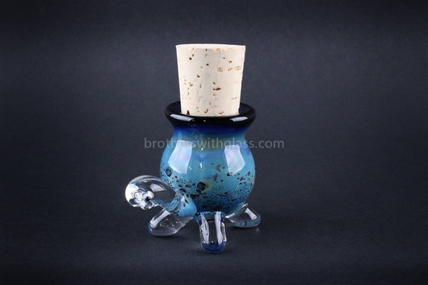 Heady Glass Random Color Stash Jar - Turtle - Brothers with Glass - 1