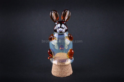 Heady Glass Random Color Stash Jar - Bunny - Brothers with Glass - 1