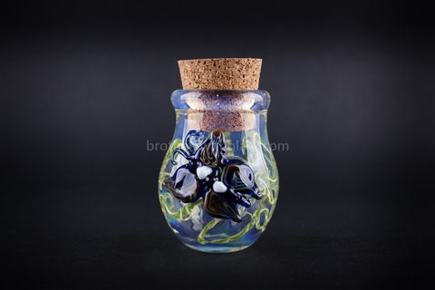 Butterfly Glass Stash Jar - Brothers with Glass - 1