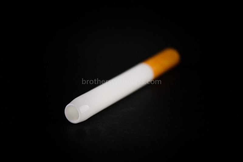 Ceramic Cigarette Tobacco Taster - Large - Brothers with Glass - 1