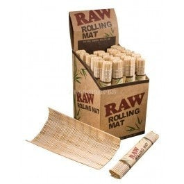 Raw Bamboo Rolling Mat - Brothers with Glass