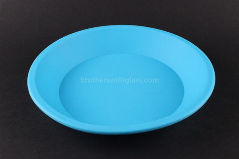 NoGoo Non Stick Concentrate Plate Container - Blue - Brothers with Glass - 1