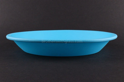 NoGoo Non Stick Concentrate Plate Container - Blue - Brothers with Glass - 2