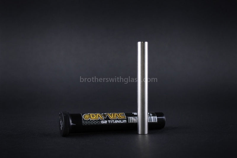 DabVac by Headdies Replacement Wand - Titanium - Brothers with Glass - 1