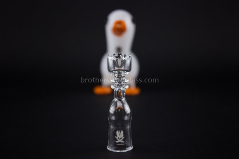 Mathematix Cute Little Duck Dab Rig - Classic White - Brothers with Glass - 4