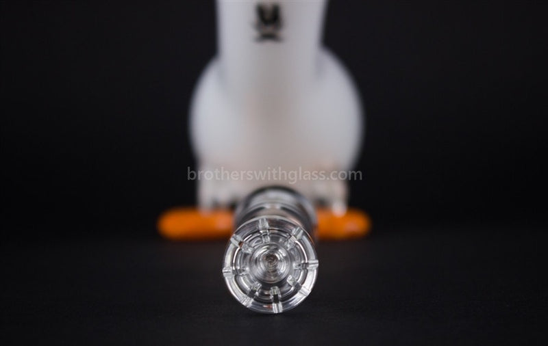 Mathematix Cute Little Duck Dab Rig - Classic White - Brothers with Glass - 5